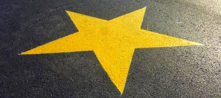 estrella amarilla